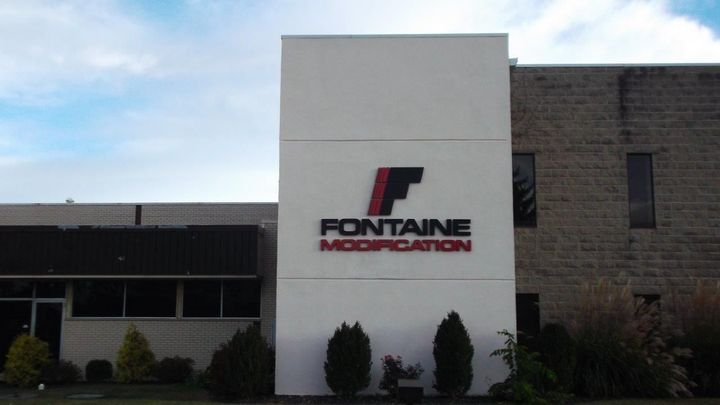 Fontaine's Springfield location is near the manufacturing plant where the chassis are built, which allows the trucks to remain in the factory delivery system during their time at Fontaine and through delivery. - Photo: Fontaine Modification