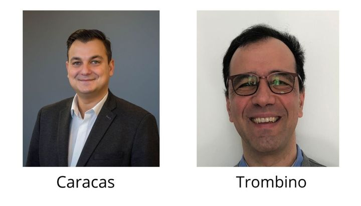 Catalin Caracas has been named VP of Operations and Human Resources and Joey Trombino joins Ranger Design as the new Chief Financial Officer. - Photo: Ranger Design.