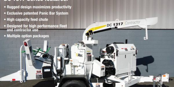 Affected models include the DT65-E, DT65-H, DC1317 chipper, and DRM12 wood chipper.
