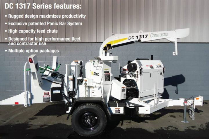 Affected models include the DT65-E, DT65-H, DC1317 chipper, and DRM12 wood chipper. - Photo: Altec