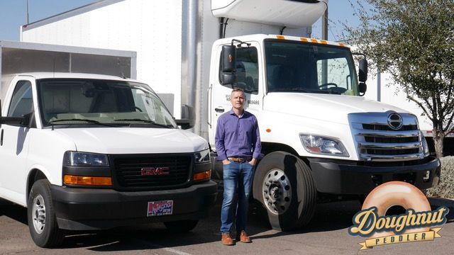 The Doughnut Peddler own all of its trucks and was looking for a way to protect its assets from damage and its drivers from collisions and faulty insurance claims. - Photo: Doughnut Peddler