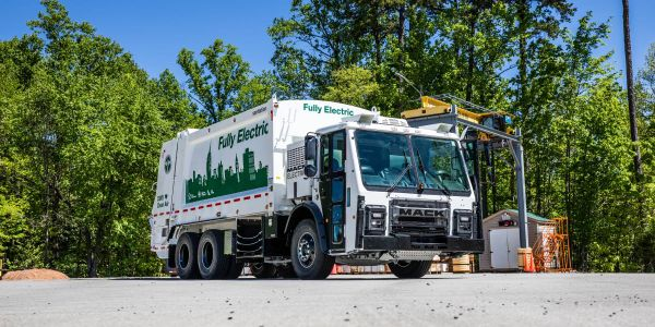 The OEM's first fully electric refuse vehicle is eligible for multiple incentive packages in the...