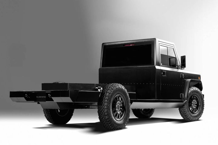 B2 CHASS-E Cab - Photo: Bollinger Motors