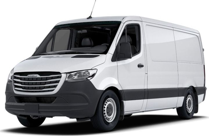 The 2020 Freightliner Sprinter is among the models recalled for brake pedal concerns. - Photo: Freightliner