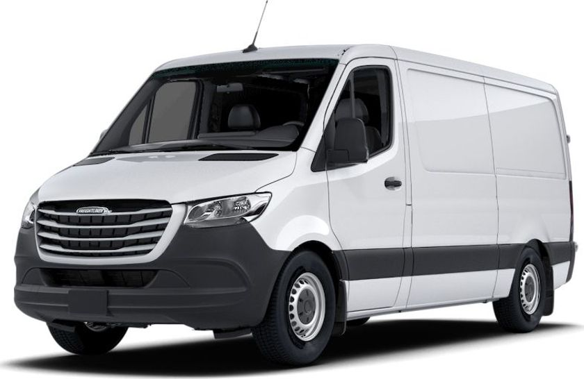 The 2020 Freightliner Sprinter is among the models recalled for brake pedal concerns.