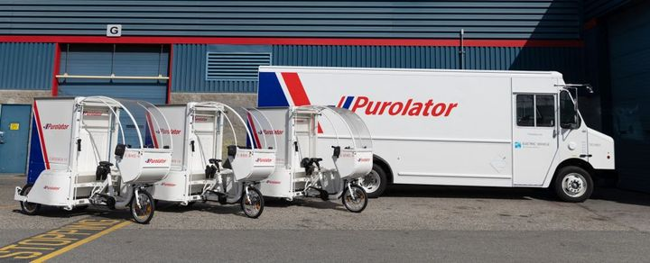 Since the onset of the global COVID-19 pandemic, Purolator has seen residential deliveries grow by approximately 50% increasing the demand for transport and courier services. - Photo: Purolator