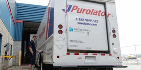 Purolator Hits Road as Electric Courier