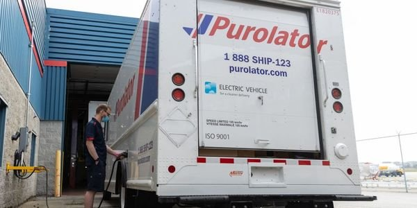 Purolator's new electric delivery vehicles are built on Ford's F-59 platform and electrified by...