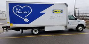 Ikea to Convert New York Last-Mile Delivery Fleet to EVs by May