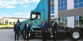 Last-Mile Delivery Fleet Takes Delivery of Volvo VNR Electric