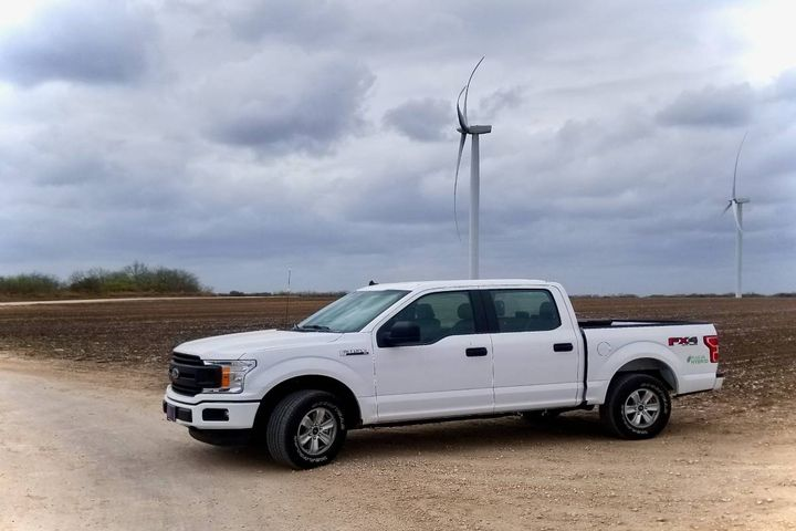 Apex is electrifying its work truck fleet with plug-in hybrid and hybrid systems on its F-Series pickup trucks. - Photo: XL Fleet