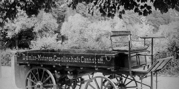 The first truck in the world was designed by Gottlieb Daimler in 1896.