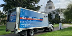Propane Autogas Truck Delivered to USPS Contractor