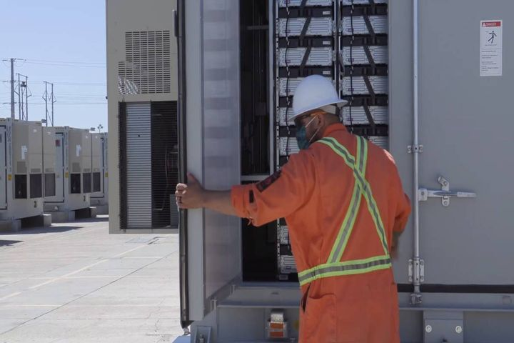 SDG&E is moving forward with two hydrogen projects, adding battery storage and vehicle-to-grid technology. - Photo: SDG&E B-Roll screenshot