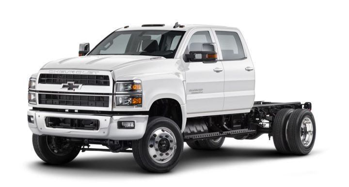 Partnership GM Bailment Pool models includeChevrolet Silverado Chassis Cab Lineup, including theChevrolet 6500 HD (pictured). - Photo: General Motors