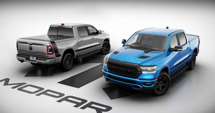 Only 250 Mopar '21 Ram 1500 units will be assembled, 210 for the United States. - Photo: Ram Truck