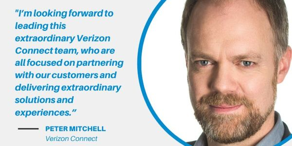 Peter Mitchell has been appointed General Manager of Verizon Connect.