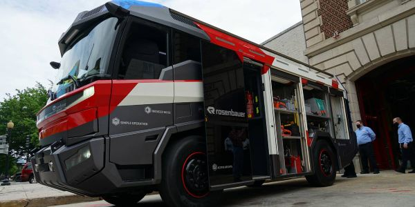 Developed by Rosenbauer America, the Revolutionary Technology is a concept truck that is safe,...