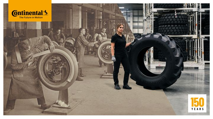 The company has come a long way in 150 years from making hoof buffers and solid tires for carriages to today's advanced tire tech. - Photo: Continental