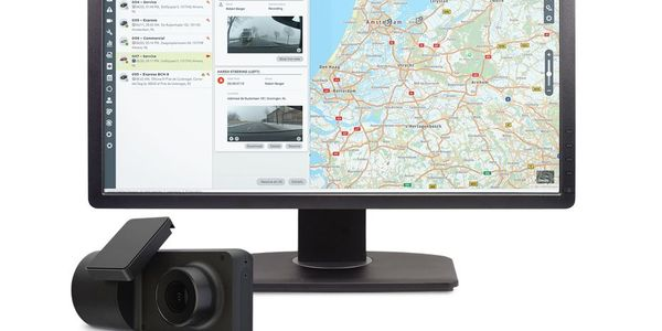 Accompanying Webfleet Video is the CAM 50 dashcam. This hardware uses artificial intelligence...