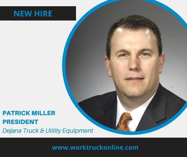Patrick Miller was named president of Dejana Truck & Utility Equipment. - Photo: Dejana