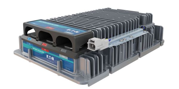 Eaton's specialty converter, also known as a battery equalizer, works in conjunction with...
