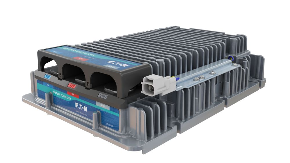 Eaton to Supply DC-DC Converters for New Battery-Electric Truck