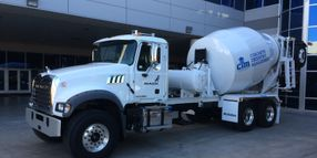 Mack Donates Granite Model to Support Concrete Industry