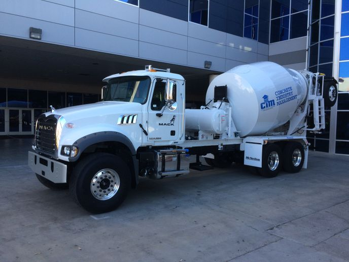 Bids on the Mack Granite will be accepted during the silent and live auctions and all proceeds will benefit the CIM program's mission to develop the next generation of leaders within the concrete industry. - Photo: Mack Trucks