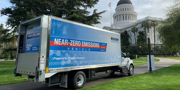 Qualifying vehicles that convert to propane systems approved by the EPA will be eligible for the rebate through the end of this year, or until funding lasts. - Photo: Roush CleanTech