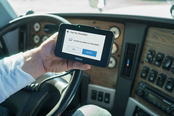 Through the partnership, EROAD will offer the full line of Phillips Connect devices for powered and non-powered assets, along with sensors, harnesses, and accessories for advanced monitoring of cargo status and trailer health. - Photo: EROAD