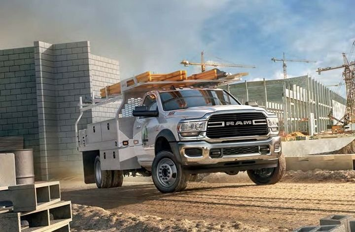 The 2021-MY Ram Chassis Cab is among the vehicles being recalled for wheel stud issues. - Photo: Ram Truck