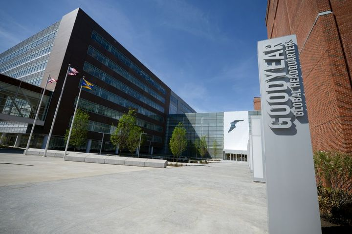 Goodyear's global corporate headquarters are in Akron, Ohio. - Photo: Goodyear