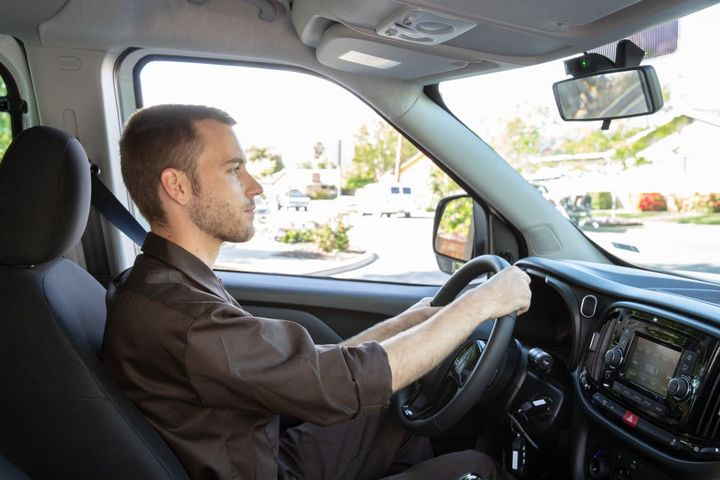 Nauto'sAI technology is able to track and analyze risk in real time, and when it detects covered risks it can provide preventative warnings that may give drivers critical extra time in which to respond. - Photo: Nauto