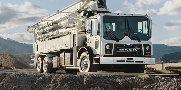 Mack TerraPro Concrete Pumpers with MP8 Engines Get mDrive