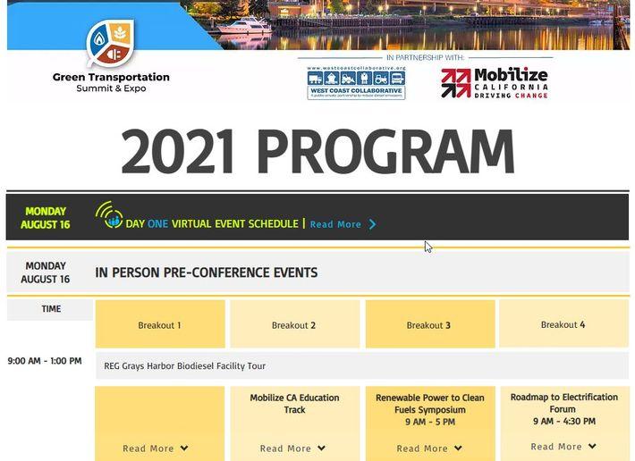 The Green Transportation Summit & Expo has announced its event program. - Photo: GTSE