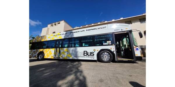 Hawaiian Electric Wins Approval for Electric Bus Pilot Program