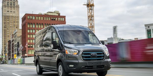 E-Transit is part of Ford's more than $30 billion investment in electrification through 2025.