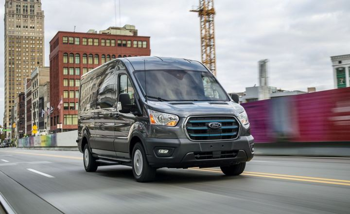 E-Transit is part of Ford's more than $30 billion investment in electrification through 2025. - Photo: Ford Motor Co.