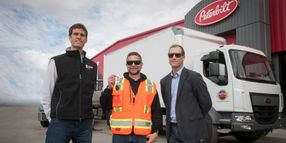 First Peterbilt Model 220EV Goes to Anchorage
