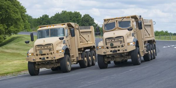 Production of the HDT trucks at the Mack Experience Center began in Q1 2021.