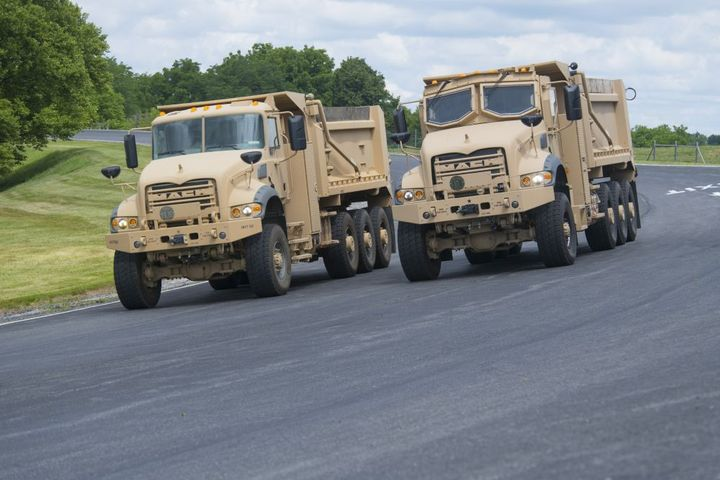 Production of the HDT trucks at the Mack Experience Center began in Q1 2021. - Photo: Mack Trucks