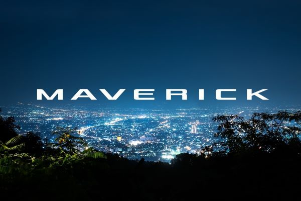 Ford last used the Maverick nameplate in North America in the 1970s on a compact, rear-wheel drive car. - Image courtesy of Ford Motor Co.