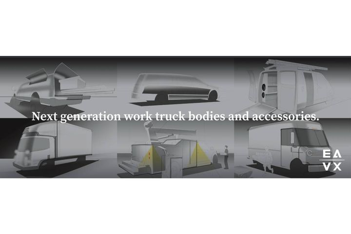 A new business unit has been formed to envision and develop next generation EV and AV powered delivery and work truck bodies and accessories. - Photo: EAVX