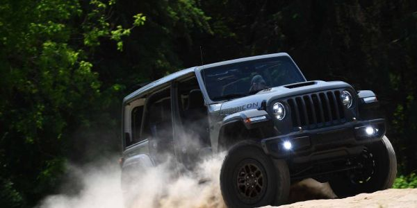 The Jeep Wrangler xtreme recon package offers 35-inch tires straight from the factory, further...