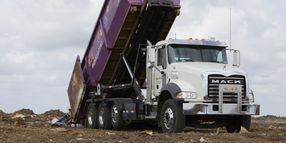 Trash Gurl's Purple Trucks Make a Statement