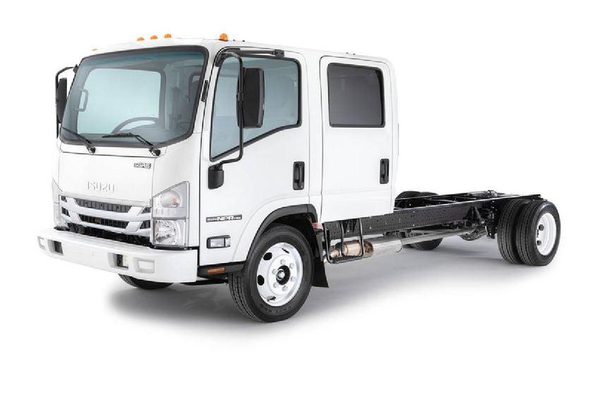 6.6L NPR-HD gas crew cab/chassis