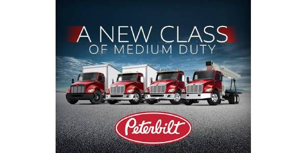 Peterbilt Introduces All-New Medium Duty Trucks