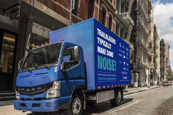 ECanter is FUSO's fully electric light-duty truck. - Photo:Daimler Truck