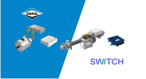 Dana & Switch Mobility Partner on Electrified Commercial Vehicles